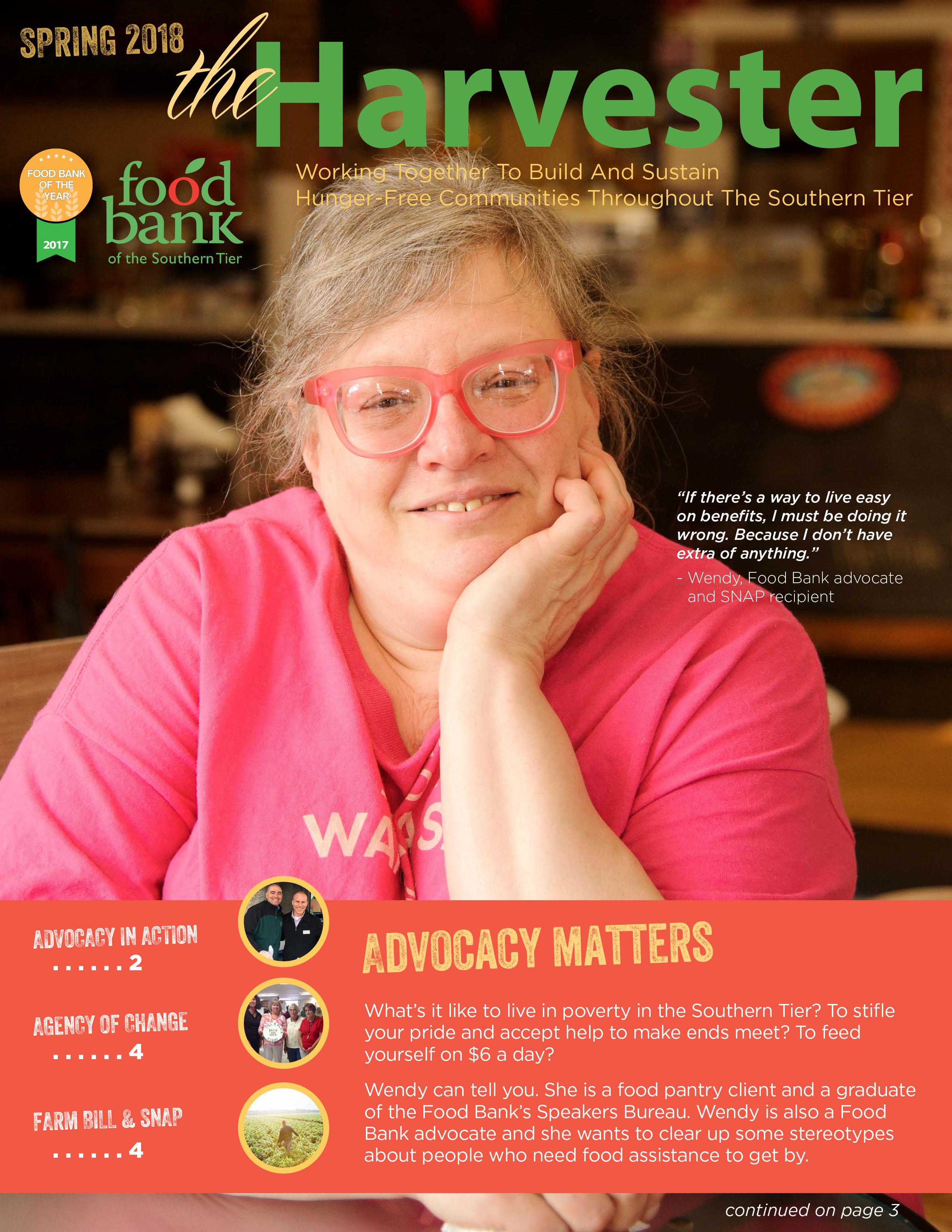 2018 03 harvester cover - Newsletter