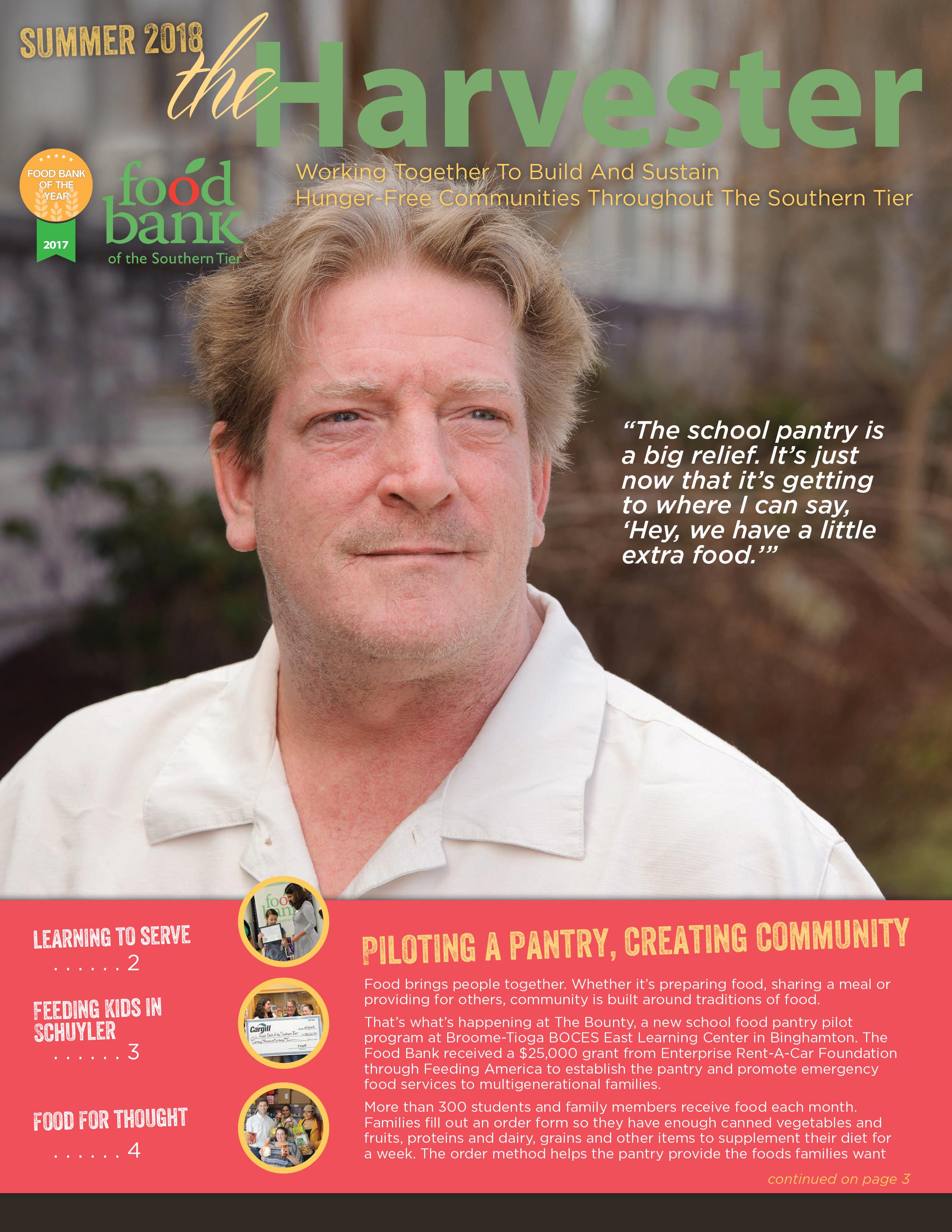2018 06 harvester cover - Newsletter
