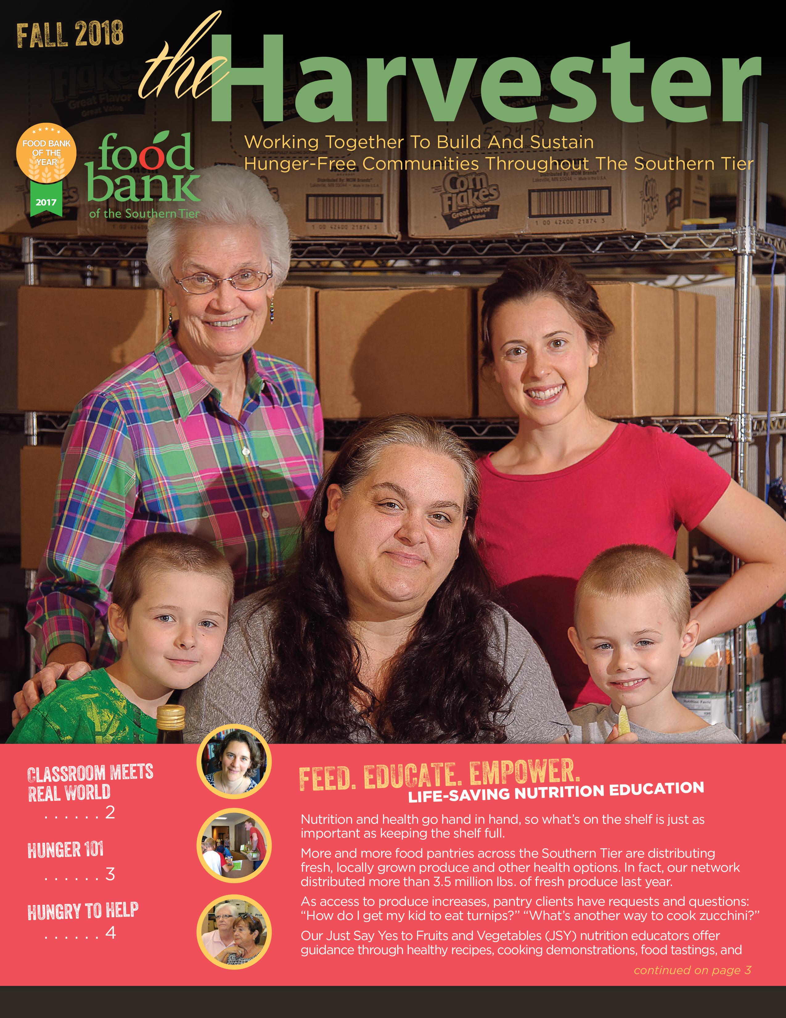 2018 09 harvester cover - Newsletter