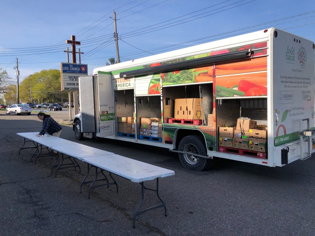 Along for the Ride   Food Bank of the Southern Tier