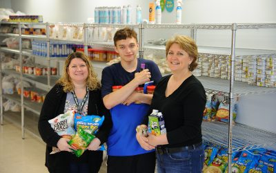 Corning Foundation Grant Funds School Food Pantry
