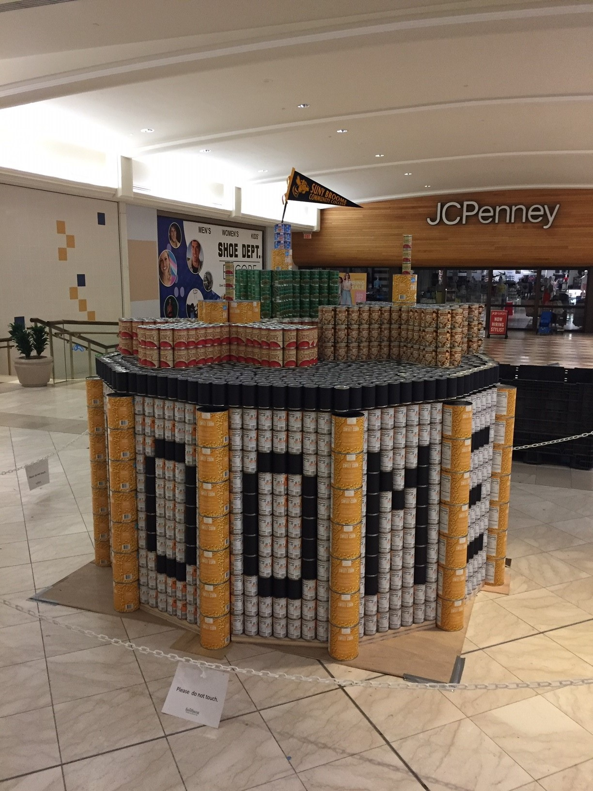 SUNY Broome Structure - Canstruction
