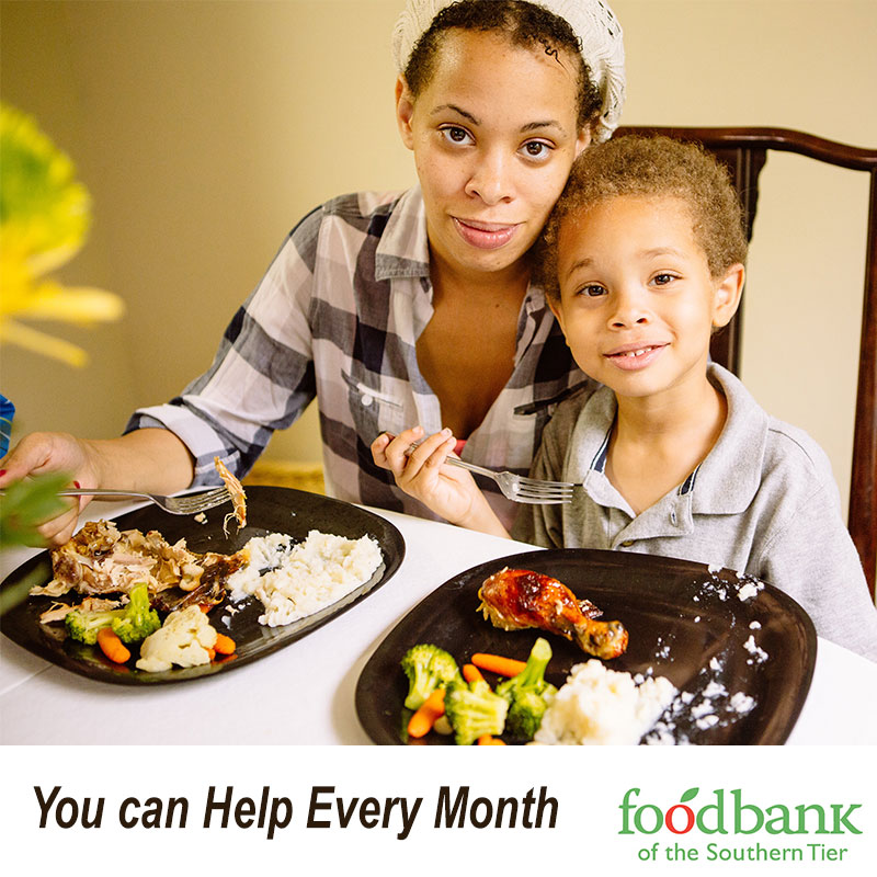 foodbankst donate monthly gift help every month - Donate