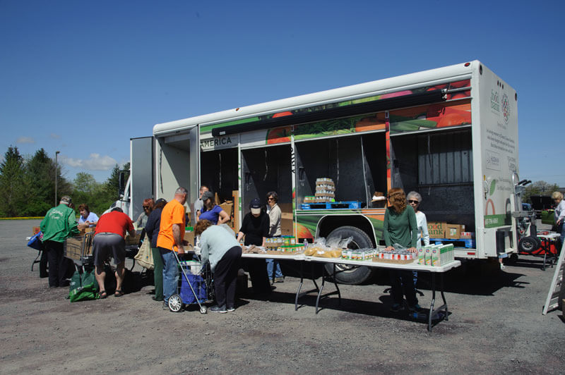 Re-opening Mobile Food Pantries Across the Southern Tier
