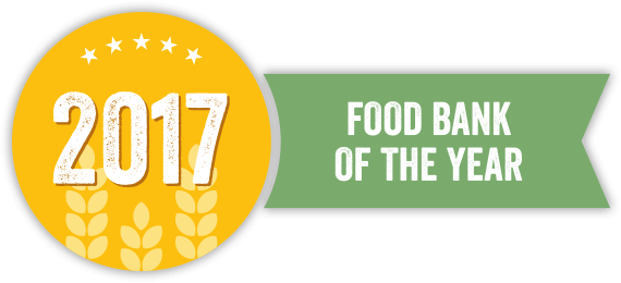 foodbankst logo food bank of the year 2017 - About Us