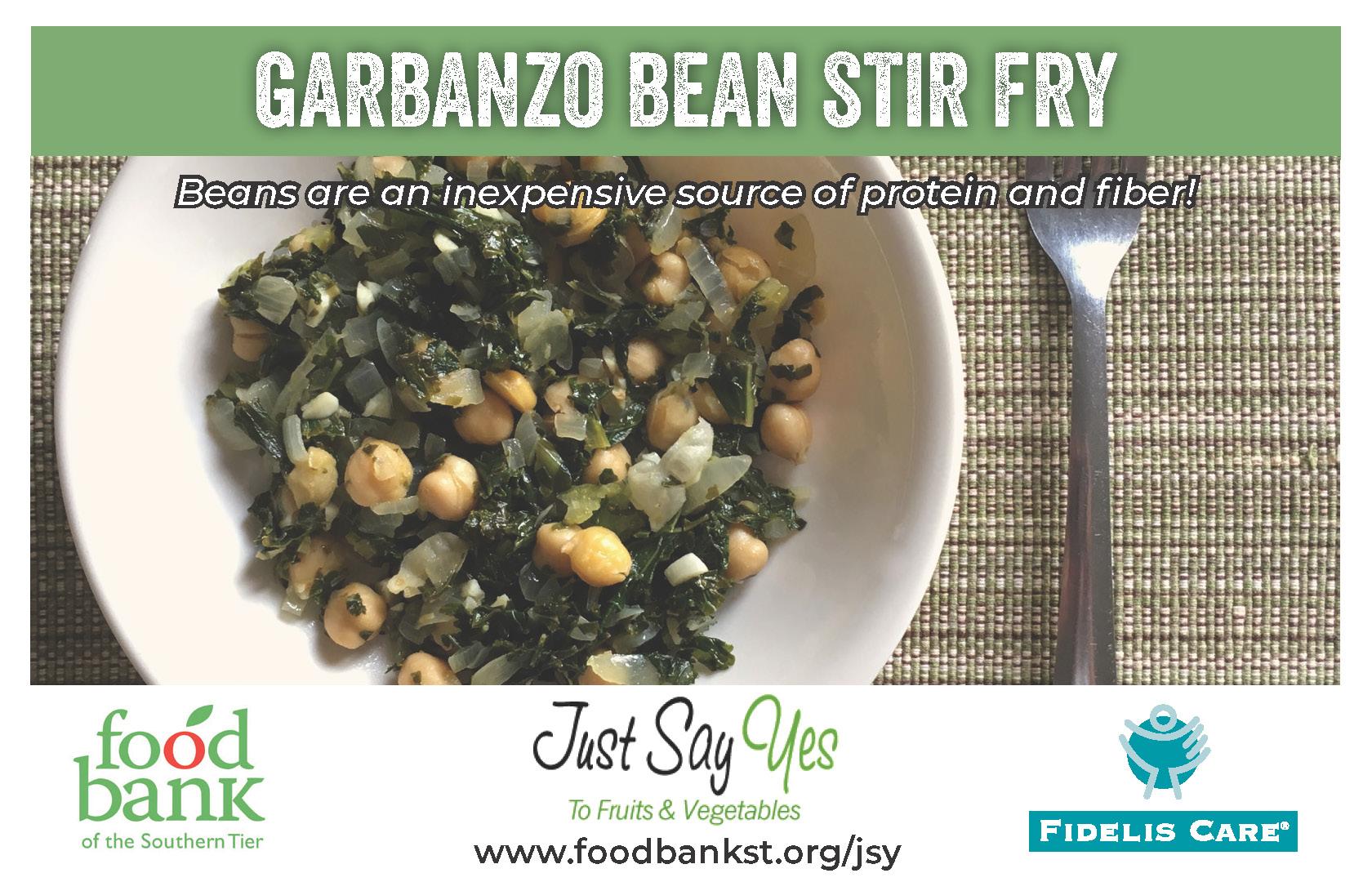 garbazo stir fry - JSY