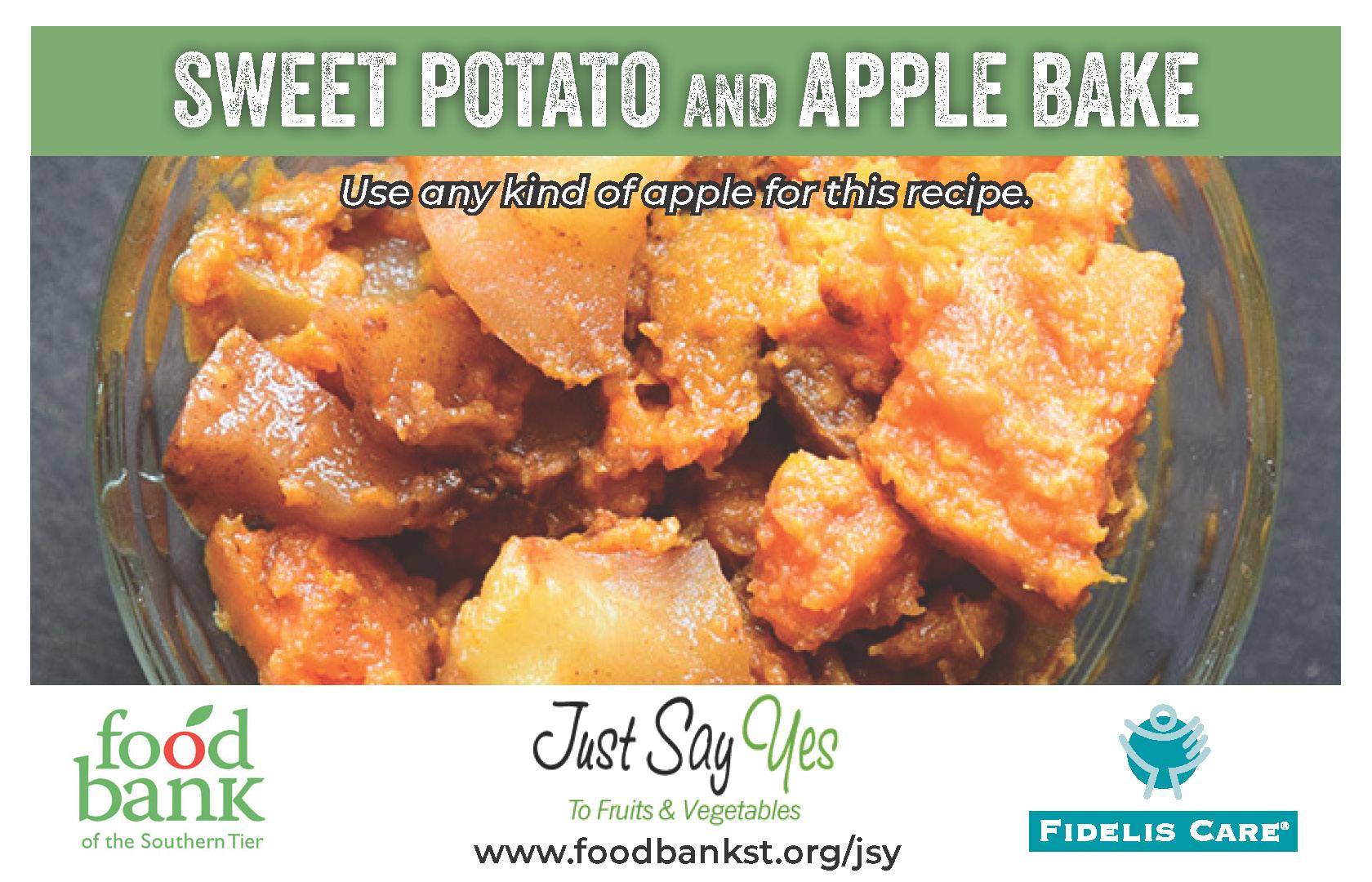 potato apple bake - JSY